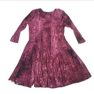 Sami & Jo Sequined Boho Style Dress Fit & Flare